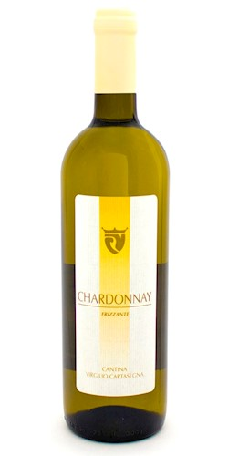 Cantina Cartasegna Virgilio Chardonnay Frizz. Provincia di Pavia IGT 2017
