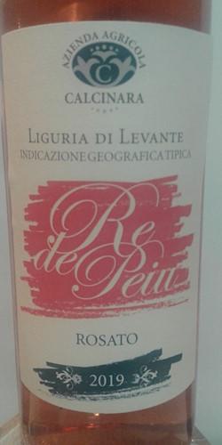 CALCINARA  di Manfredi Antonella RE de PEIU - IGT LIGURIA DI LEVANTE 2019