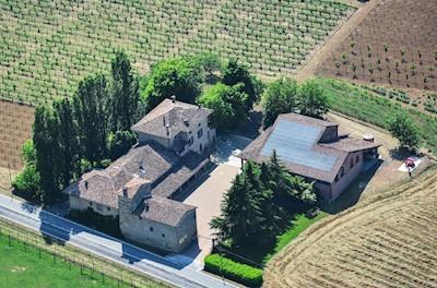 Casa Benna Vini, Castell'Arquato Emilia-Romagna
