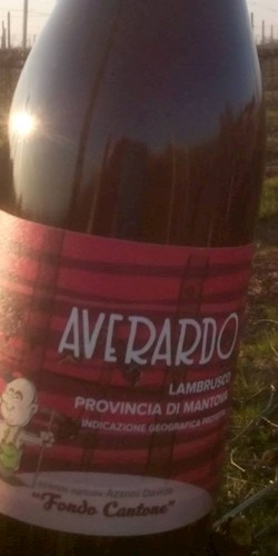 "Az Agr Azzoni Davide ""Fondocantone"" Lambrusco Mantovano IGP ""AVERARDO"" 2018"
