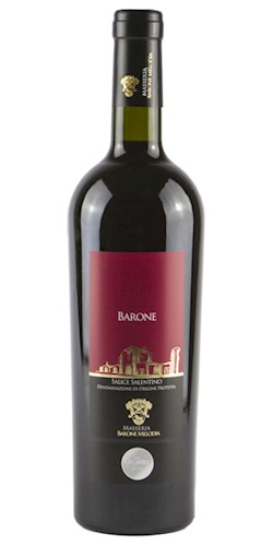 """Masseria Barone Melodia VINO SALICE SALENTINO """"BARONE"""" DOP  2015"""