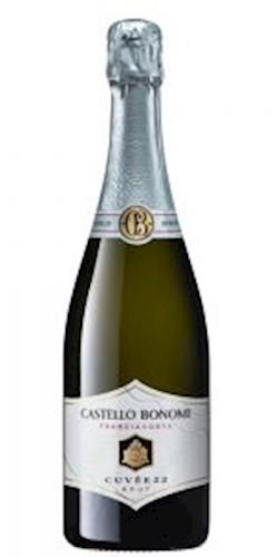 UltimoVino Castello Bonomi FranciacortaBrut Cuvée22 2016