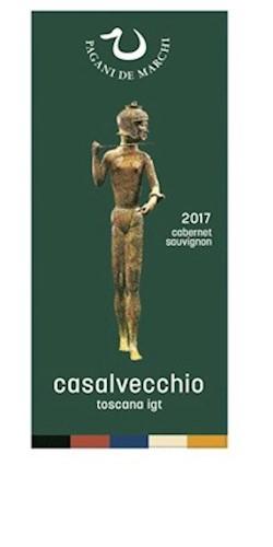 PAGANI DE MARCHI  CASALVECCHIO IGT Toscana Cabernet 100% 2017
