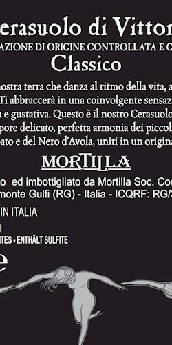 Vini Mortilla Nakrì Cerasuolo di Vittoria Docg Classico 2015