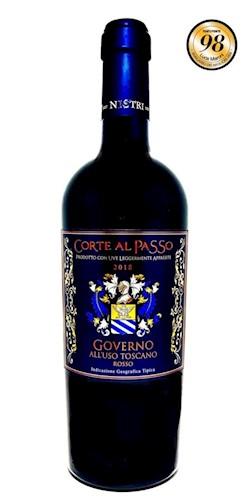 """Nistri Dal 1865 Vini in Toscana """"Corte al Passo"""" Uso Governo 2018"""
