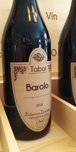 Tabai Barolo 4 BAROLO E LIMITATA CHANEL  VINTAGE 2016 2016