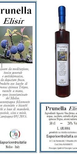 Saporicentroitalia La Prunella - Liquore da trigno 2018