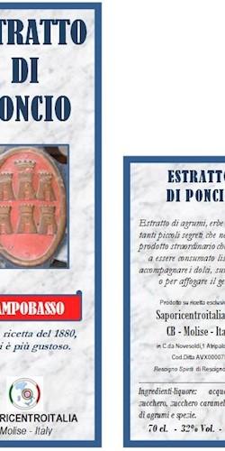 Saporicentroitalia ESTRATTO DI PONCIO  2018