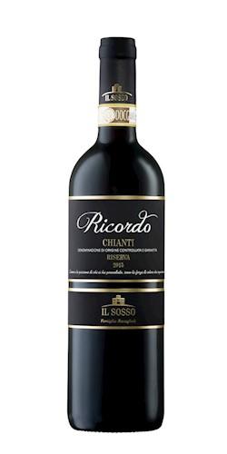 """IL SOSSO CHIANTI RISERVA DOCG """"RICORDO"""" 2015"""