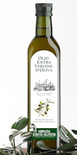 Abbazia Monte Oliveto Olio extra vergine di oliva 2019
