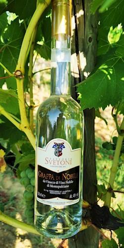 FATTORIA SVETONI Grappa di Vino Nobile 2019