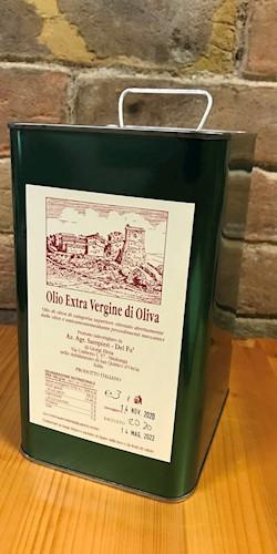 Cantina Sampieri Del Fà Olio Extravergine Oliva 3,0 Lt. 2020