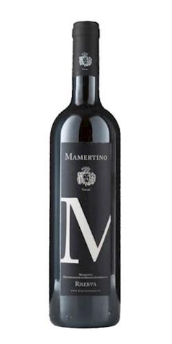 Vasari Mamertino Rosso Riserva 2008