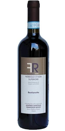 """ROSSO FRANCESCO Nebbiolo d'Alba superiore """"Bastianetto"""" 2015"""