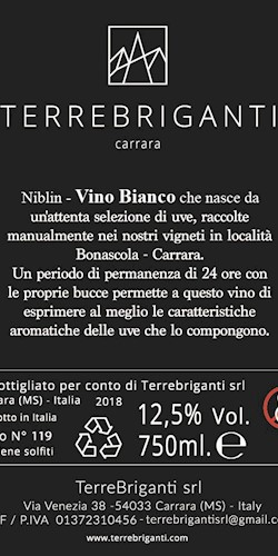 TerreBriganti - Carrara Niblin  2018