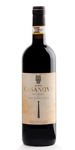 Podere Casanova Montepulciano  Vino Nobile di Montepulciano D.O.C.G. 2016