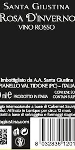 Santa Giustina ROSA D'INVERNO 2016