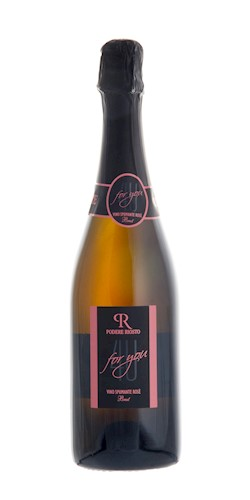 Podere Riosto FOR YOU Spumante Rosè Brut 2019