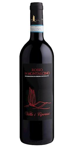 Villa i cipressi Rosso di Montalcino doc 2018