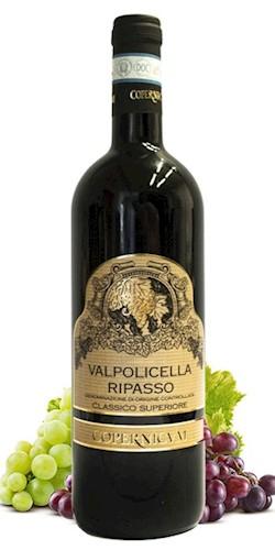 """Copernico Vini Valpolicella Sup. Class. Doc """" Ripasso"""" 2017"""