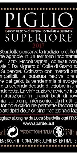 Luca Sbardella Piglio Superiore '17 2017